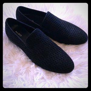 ALDO Goolsby Men's Slip-on Black Dress Shoes
